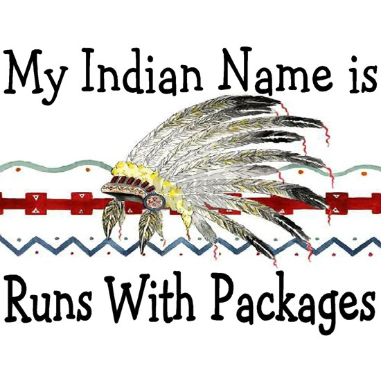 My Indian Name runs with packages