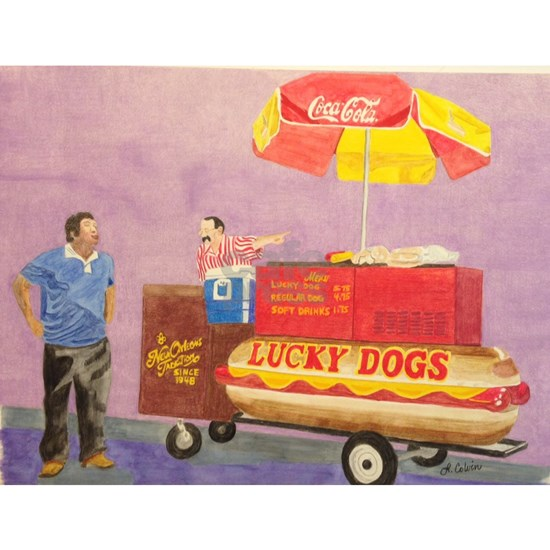 New Orleans Lucky Dog Cart