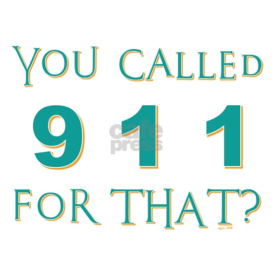 YOU CALLED 911