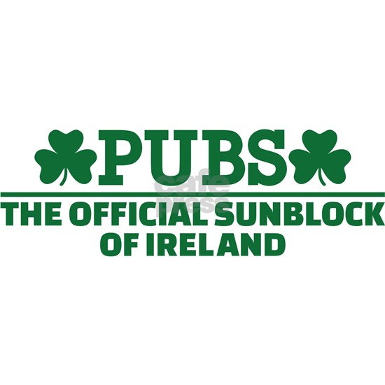 Pubs official sunblock of Ireland