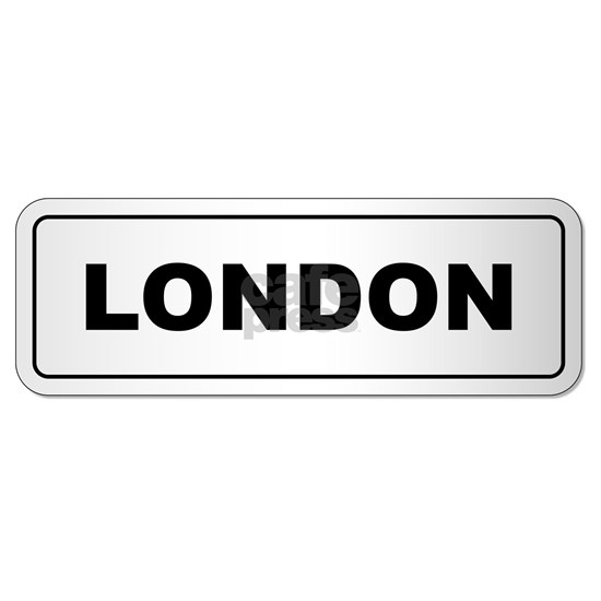 London City Nameplate