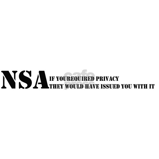 NSA privacy issue