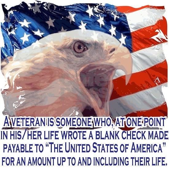 Veteran Blank Check