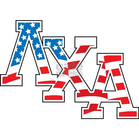 Lambda Chi Alpha Letters Flag