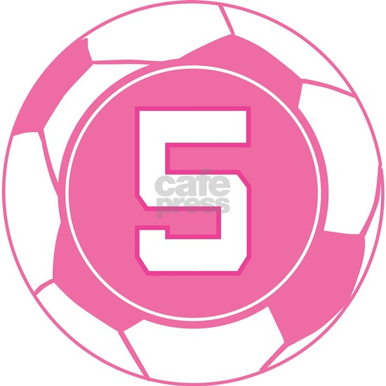 Soccer Player Uniform Number 5