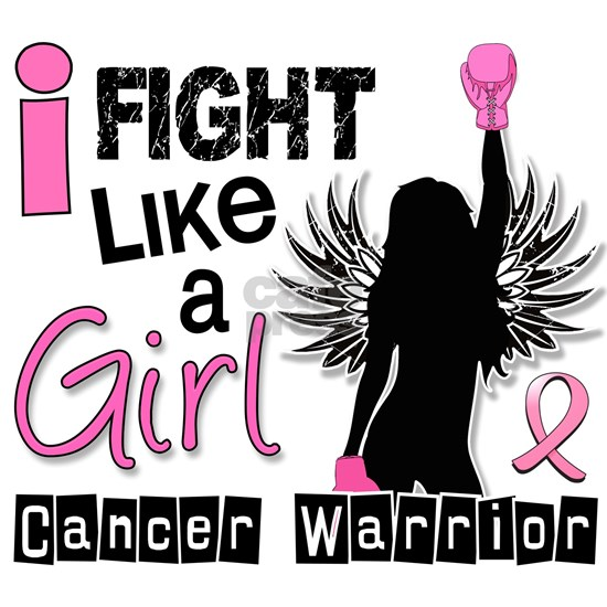 Fight Like A Girl Breast Cancer 26.2