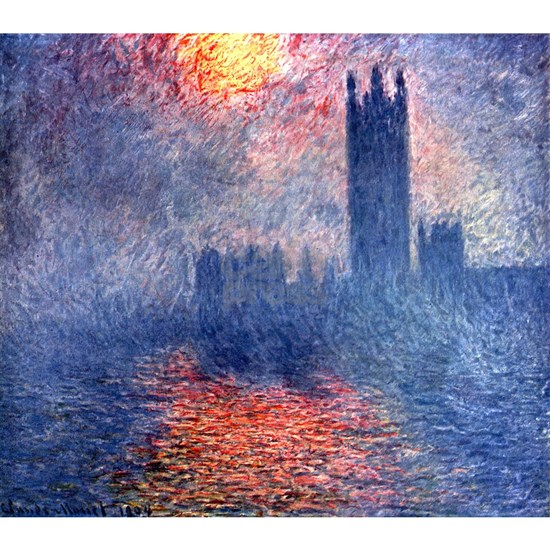 claude Monet Parliament In London