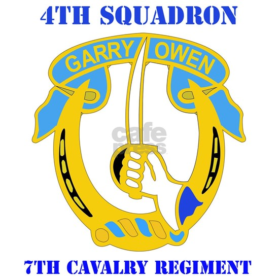 4-7TH CAV RGT WITH TEXT