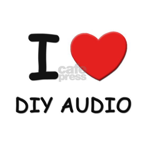 I love diy audio