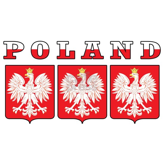 Poland Eagle Shields