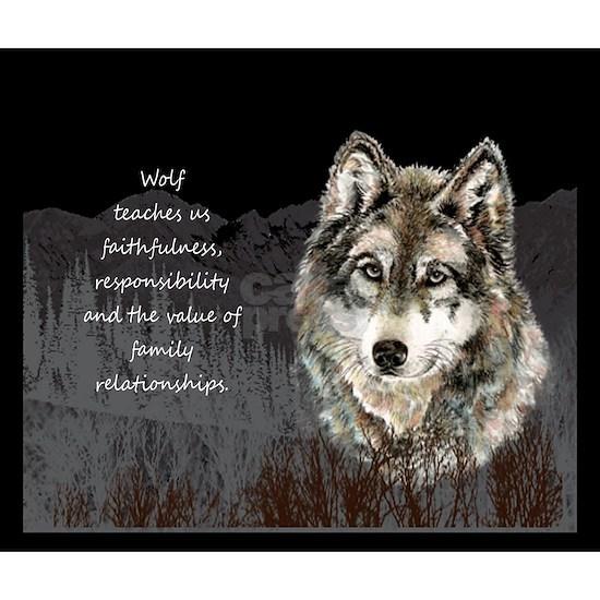 Wolf Totem Animal Spirit Guide for Inspiration Jou