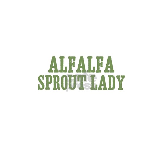 Alfalfa Sprout Lady