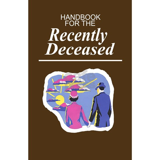 4 notebook handbook for recently deceased