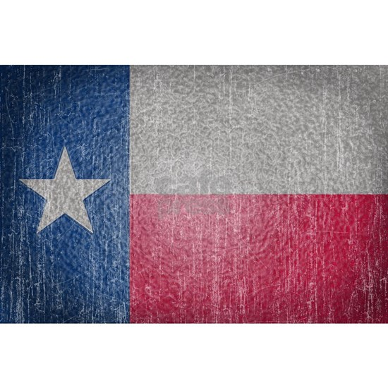 Texas Flag Faded