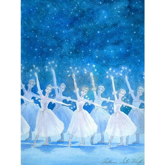 danceof thesnowflakes-lg-framedpanelprint