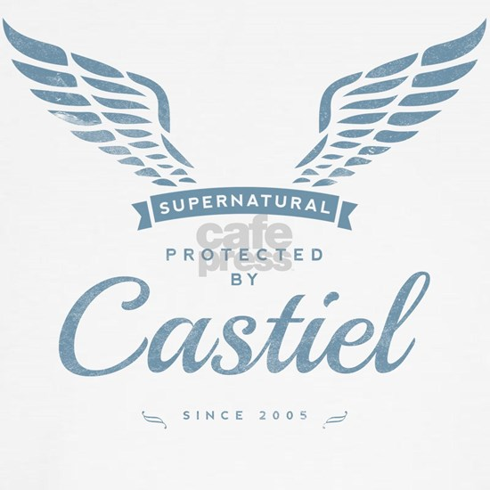 SUPERNATURAL Castiel gray blue