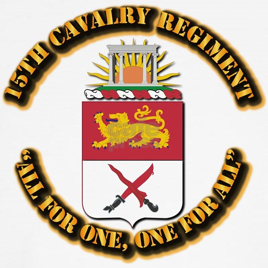 COA - 15th Cavalry Regiment