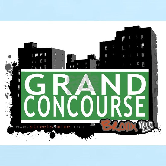 GRAND CONCOURSE, BRONX, NYC