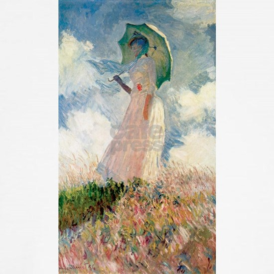 Claude Monet's Woman with a Parasol, Study