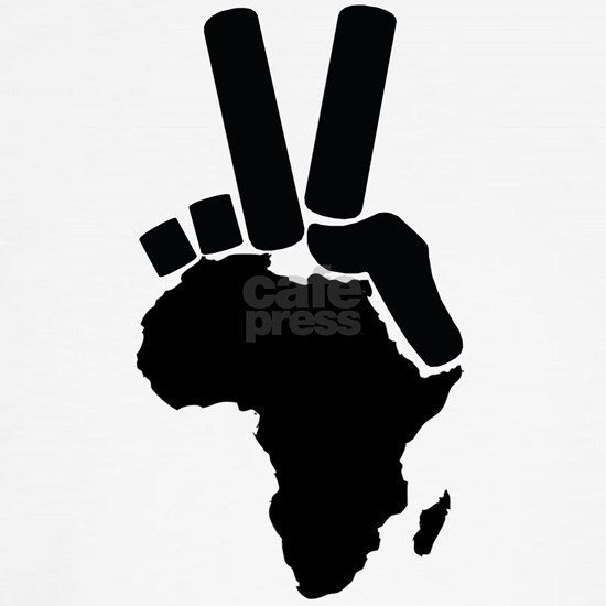africa-peace sign