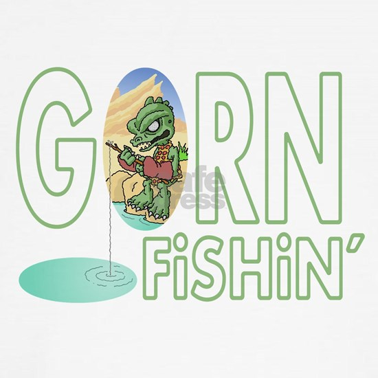 Gorn Fishin Cartoon