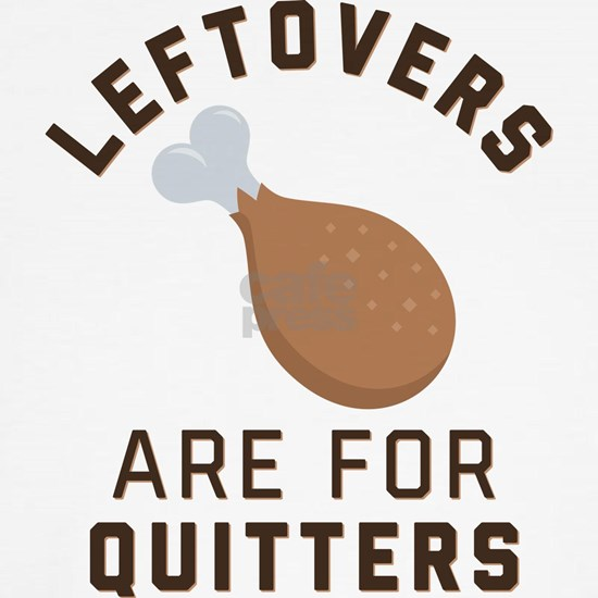 Leftovers are for Quitters Emoji