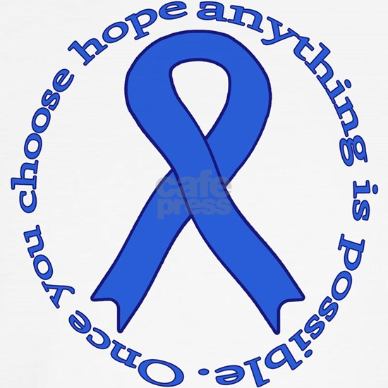royal blue hope ribbon