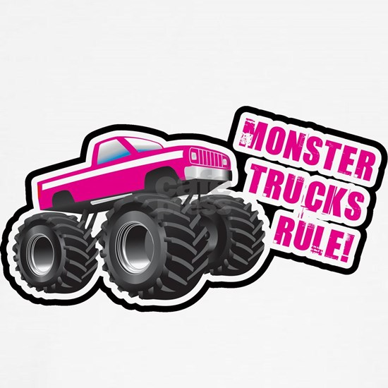 Pink Monster Truck Dog T Shirt By Year Of The Tee Birthday T Shirts Cafepress