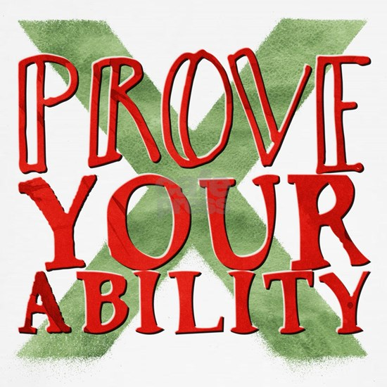 Prove Your Ability