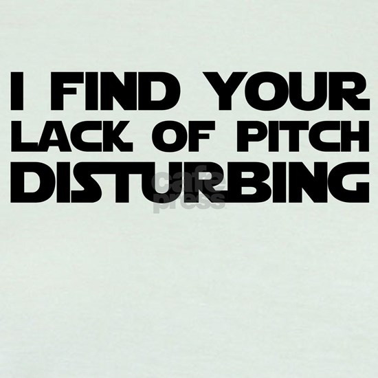 Lack of Pitch