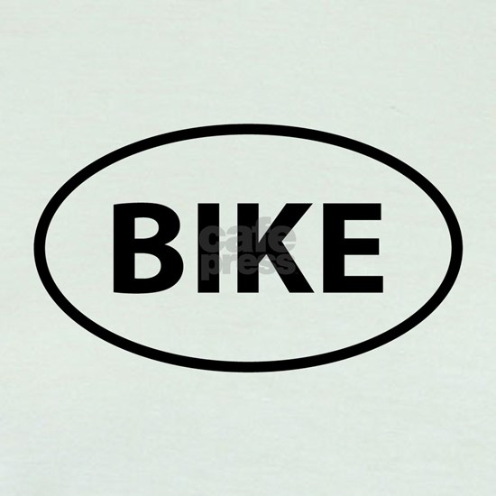 BIKE.oval sticker