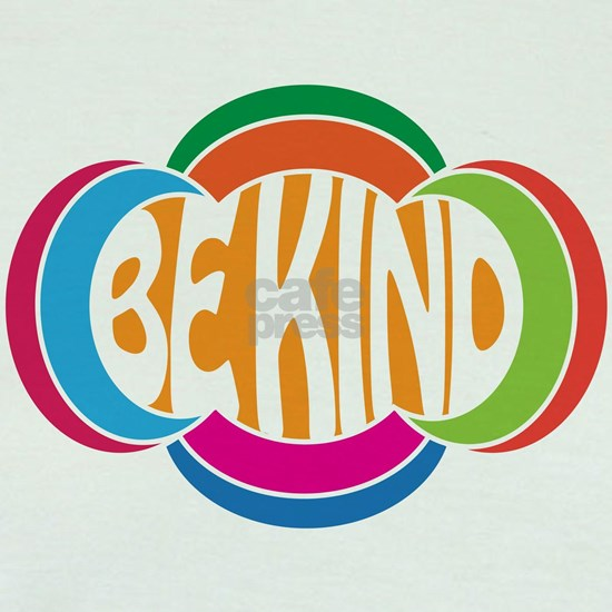Be Good Be Kind Retro Design
