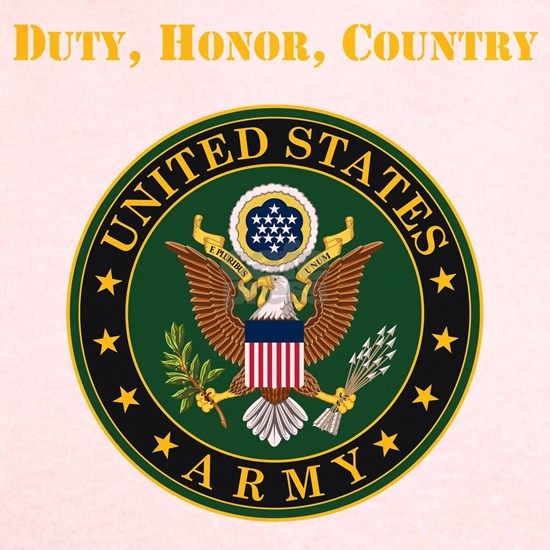 Duty Honor Country Army