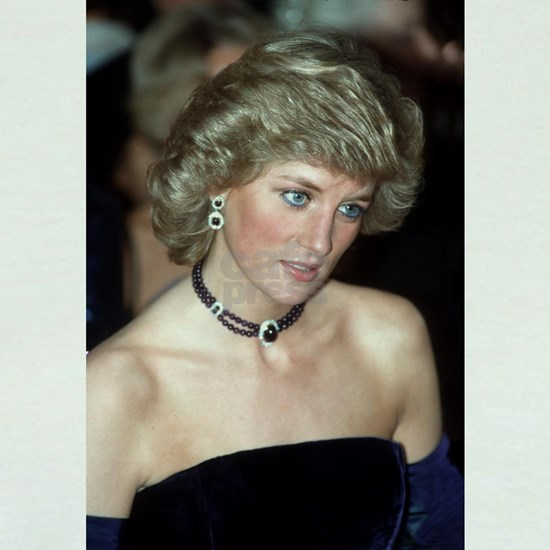 HRH Princess Diana Germany 1987