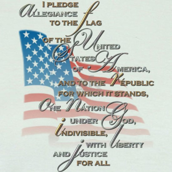 US PLEDGE OF ALLEGIANCE2
