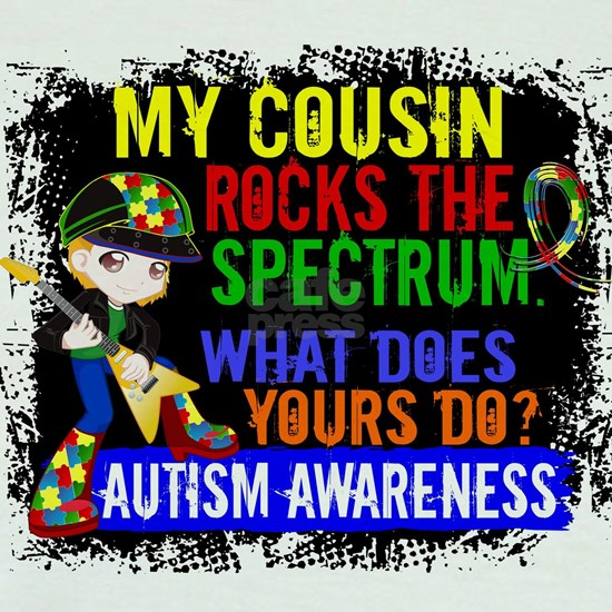 -Cousin Rocks The Spectrum Autism