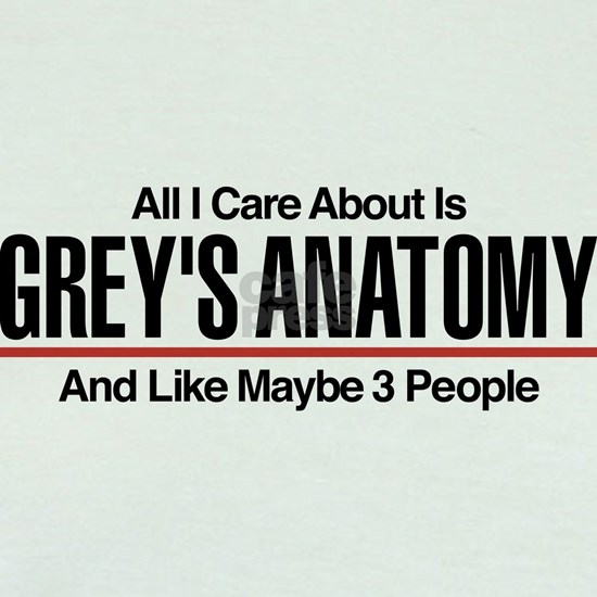 Grey's Care About Maybe 3 People