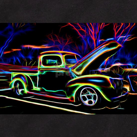 1940 Ford Pick up Truck Neon