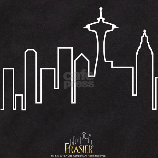 Frasier Logo City Line Design