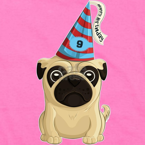 9th Birthday Pug