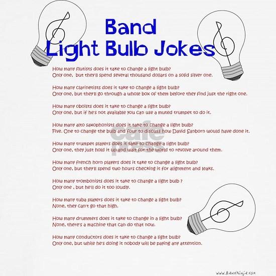 Band Light Bulb Jokes
