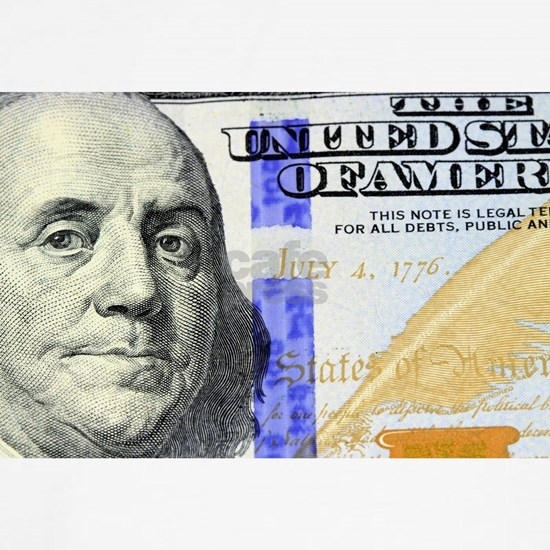 US Currency One Hundred Dollar Bill