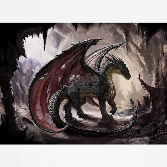 Dragon In Cave