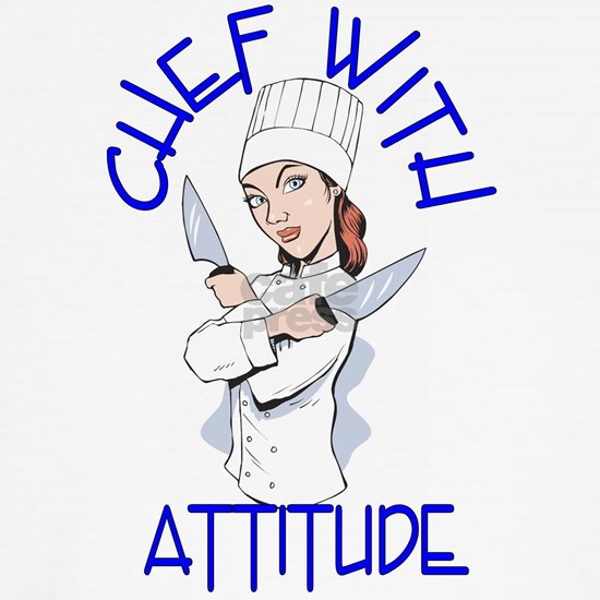 Lady Chef with Attitude