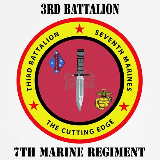 SSI - 7TH MARINE RGT-3RD BN WITH TEXT
