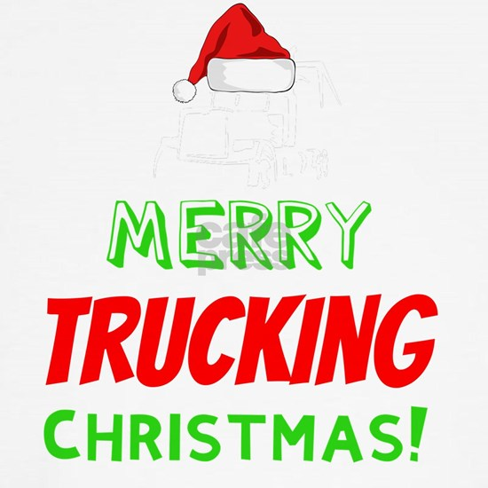 MERRY TRUCKING CHRISTMAS