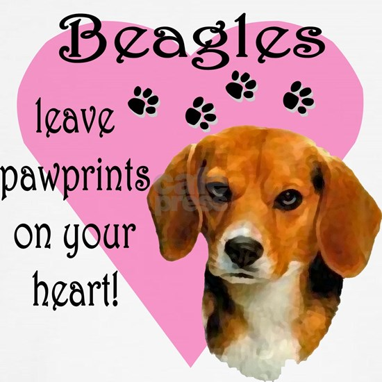 Beagle Pawprints