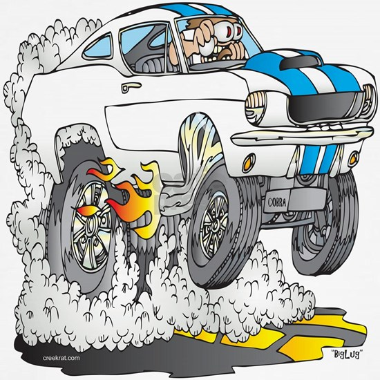 Creekrat_CARtoons_Shelby_Mustang_Tee copy