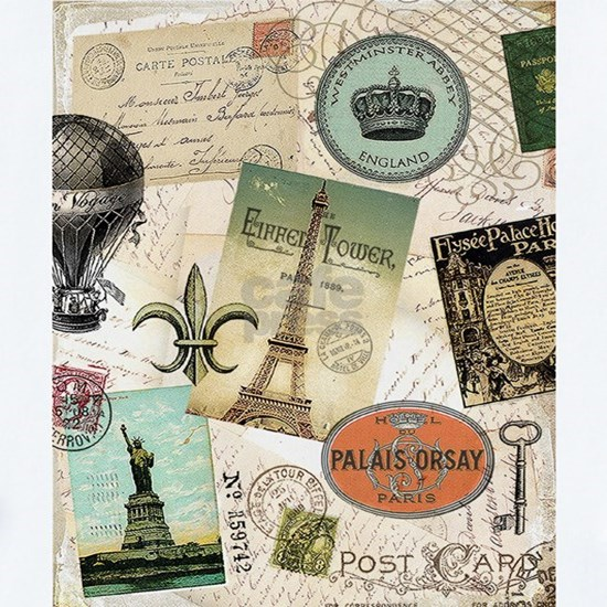 Vintage Travel collage