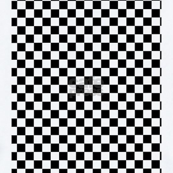 Black White Checkered